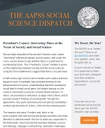 AAPSS Social Science Dispatch